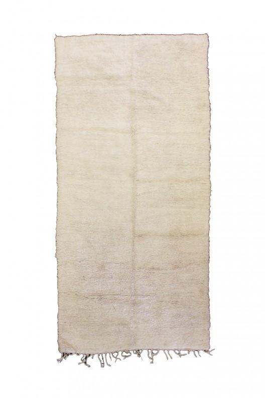 Tappeto Berbero Beni Ourain - 390x185 cm - 153.5X72.8 in