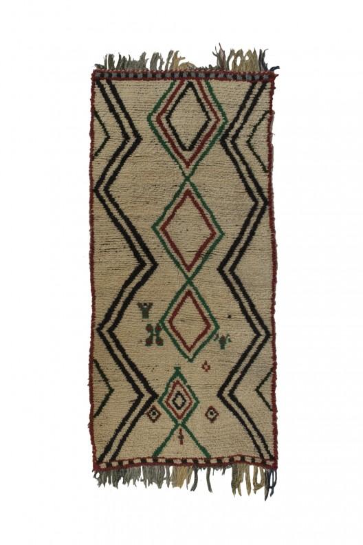 Tappeto Berbero Azilal - 270X120 cm - 106.3X47.2 in