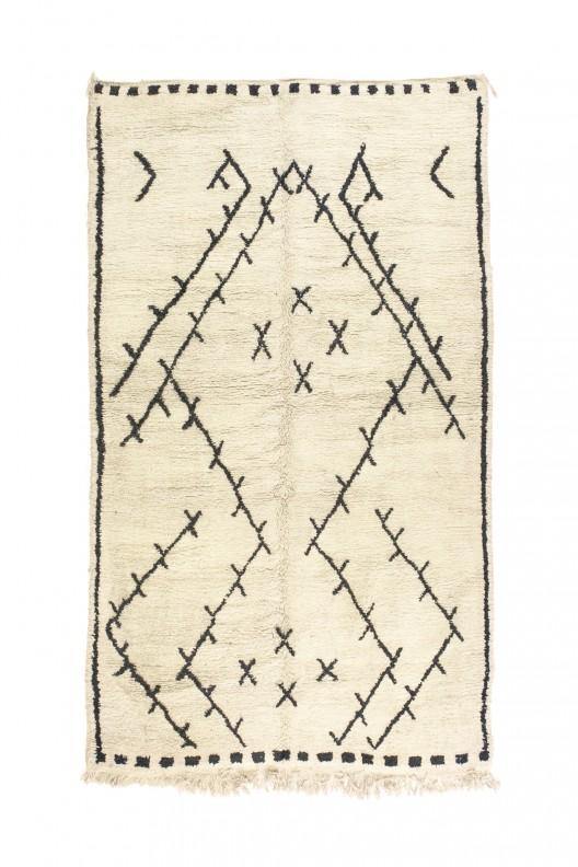 Tappeto Berbero Beni Ourain - 300x185 cm - 118.1X72.8 in