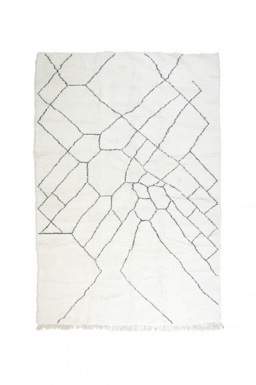 Tappeto Berbero Beni Ourain - 400x270 cm - 157.5X106.3 in