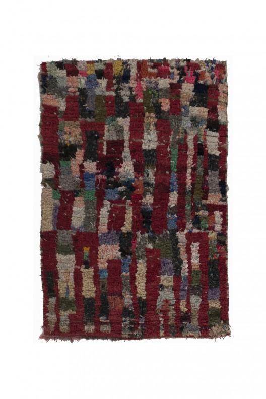 Tappeto Berbero Boucherouite - 155x105 cm - 61X41.3 in