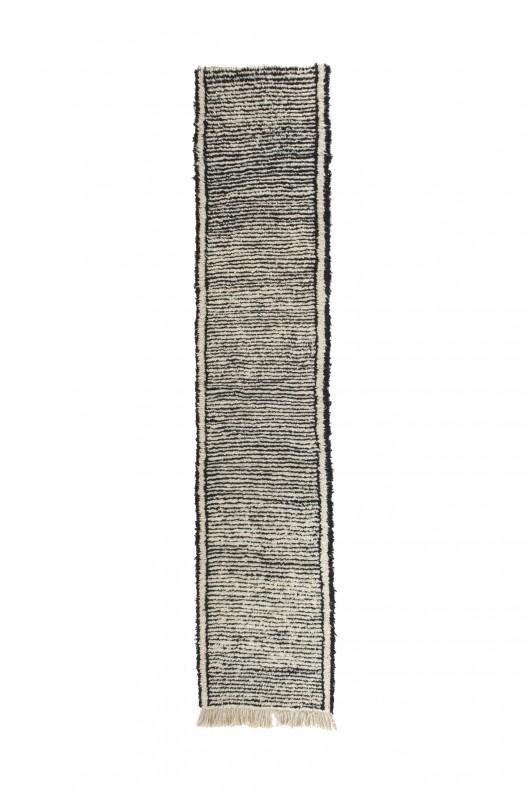 Tappeto Berbero Beni Ourain - 340x95 cm - 133.9X37.4 in