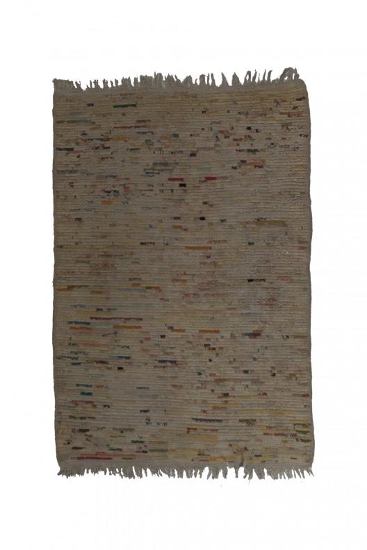 Tappeto Berbero Beni Ourain - 170x 115 cm - 66.9X45.3 in