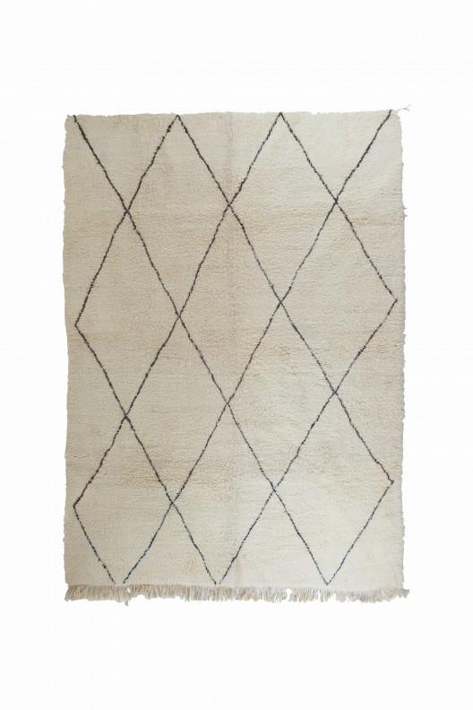 Tappeto Berbero Beni Ourain - 340x275 cm - 133.9X108.3 in