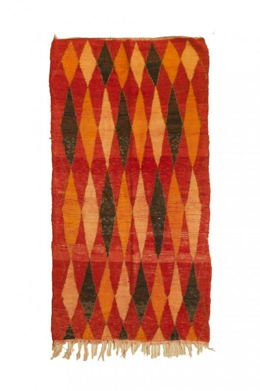 Tappeto Berbero Azilal - 255X147 cm - 100.4X57.9 in