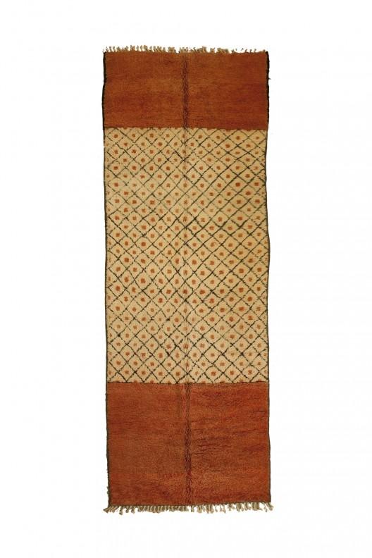 Tappeto Berbero Azilal - 445X160 cm - 175.2X63 in