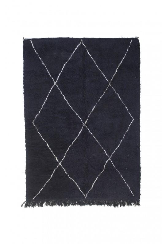 Tappeto Berbero Beni Ourain - 285X220 cm - 112.2X78.7 in
