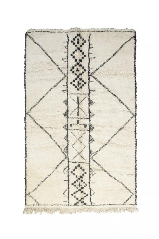Tappeto Berbero Beni Ourain - 300X215 cm - 118.1X84.6 in