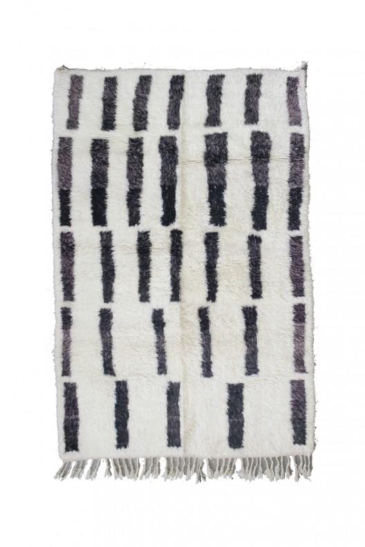 Tappeto Berbero Beni Ourain - 275x180 cm - 108.3X70.9 in