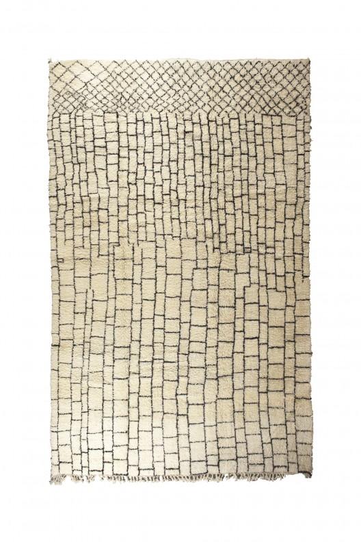 Tappeto Berbero Beni Ourain -  415x285 cm - 163,39x112,20 in