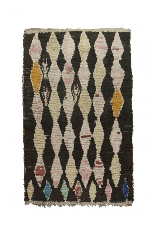 Tappeto Berbero Boucherouite - 220X145 cm - 86.6X57.1 in