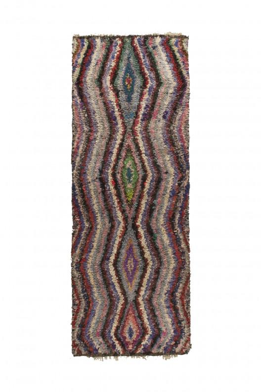 Tappeto Berbero Boucherouite - 170X125 cm - 66.91X49.2 in