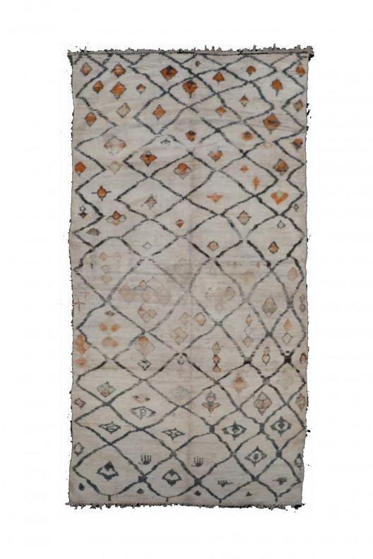 Tappeto Berbero Beni Ourain - 280X170 cm - 110.2X66.9 in