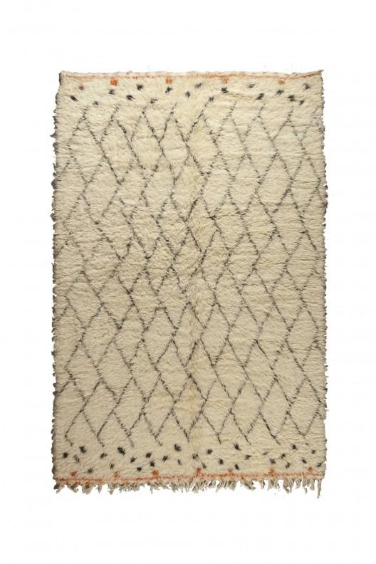 Tappeto Berbero Beni Ourain - 335x285 cm - 131.9X112.2 in