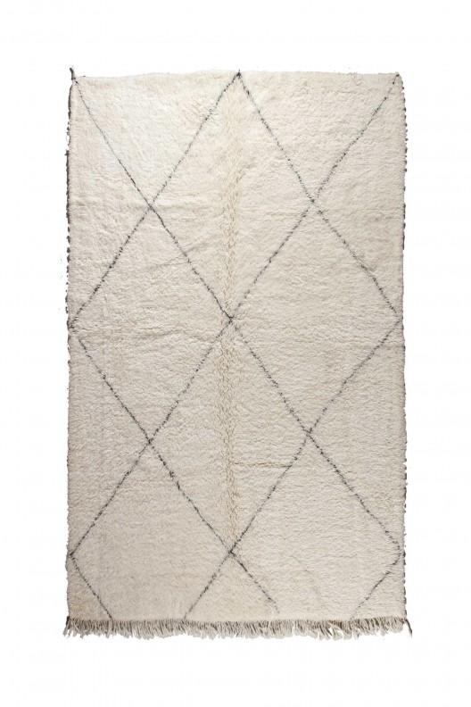 Tappeto Berbero Beni Ourain - 295X215 cm - 116.1415X84.6455 in