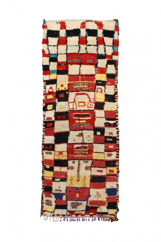 Tappeto Berbero Azilal - 370X150 cm - 145.669X59.055 in