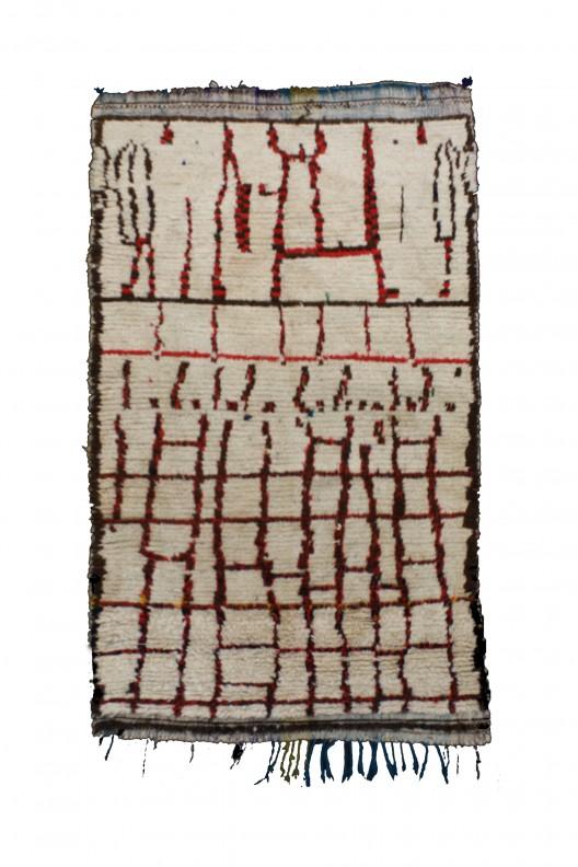 Tappeto Berbero Azilal - 220X106 cm - 86.614X41.7322 in