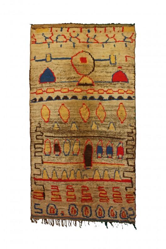 Tappeto Berbero Azilal - 310x155 cm - 122.047X61.0235 in