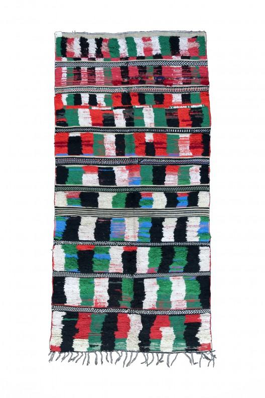 Tappeto Berbero Boucherouite - 270X120 cm - 106.299X47.244 in