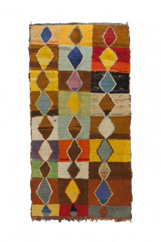 Tappeto Berbero Boucherouite - 205X150 cm - 80.7085X59.055 in