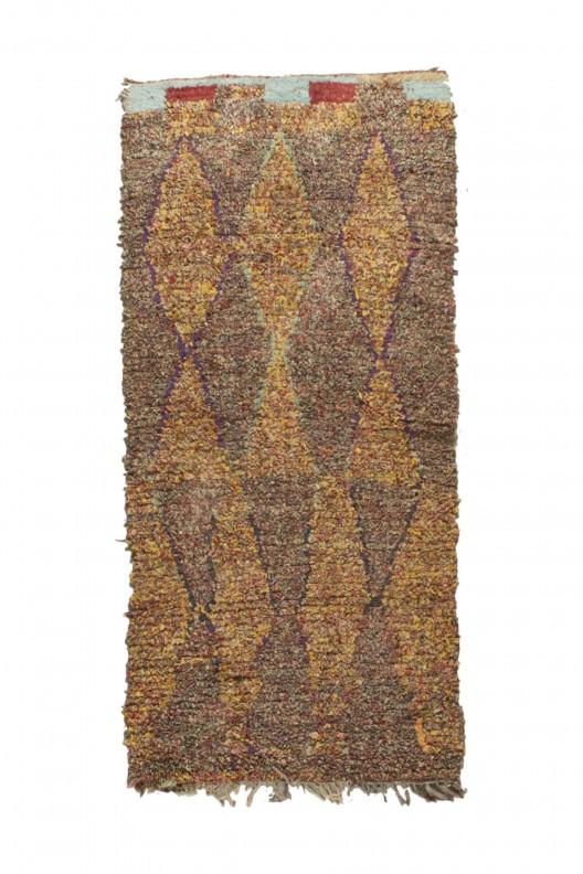 Tappeto Berbero Boucherouite - 195X95 cm - 76.7715X37.4015 in