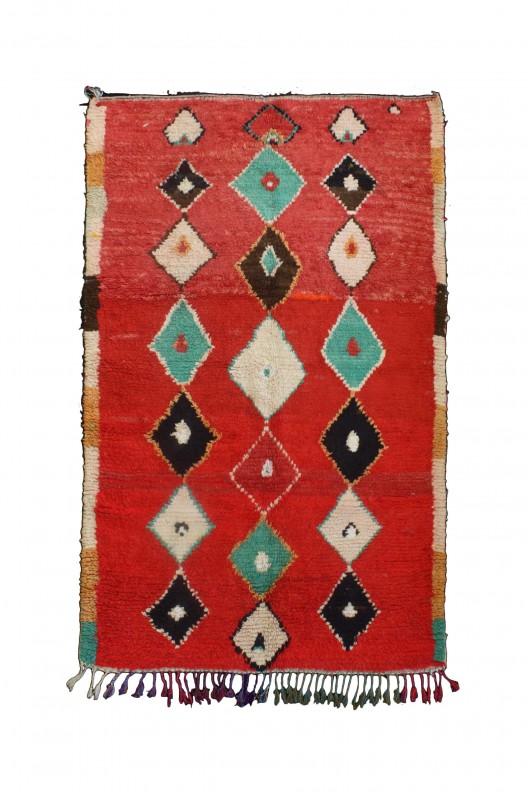 Tappeto Berbero Azilal - 235X156 cm - 92.5195X61.4172 in