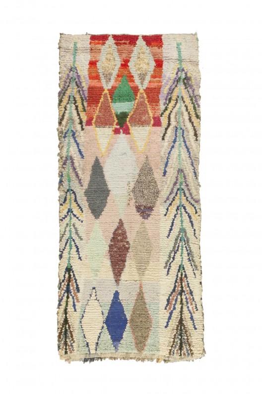 Tappeto Berbero Boucherouite - 215x105 cm - 84.6455X41.3385 in