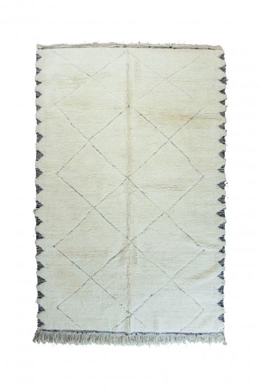 Tappeto Berbero Beni Ourain - 325x225 cm - 127.9525X88.5825 in