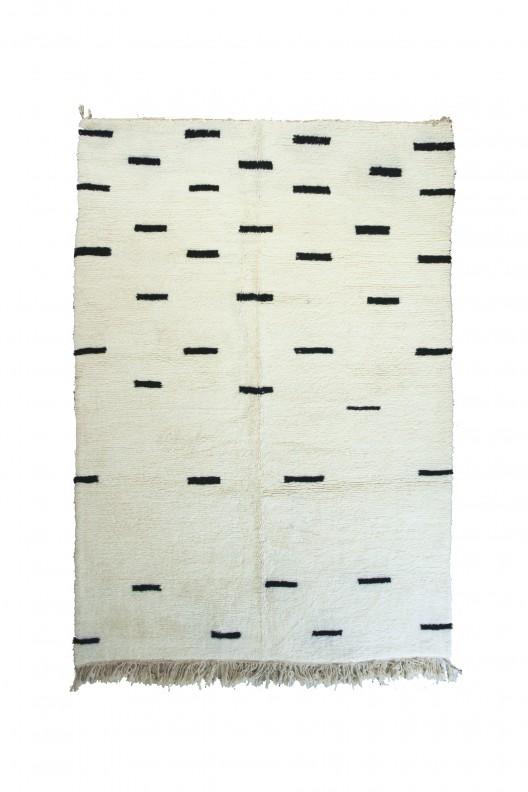 Tappeto Berbero Beni Ourain - 305x210 cm - 120.0785X82.677 in