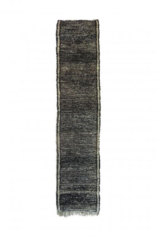 Tappeto Berbero Beni Ourain - 350x83 cm - 137.795X32.6771 in