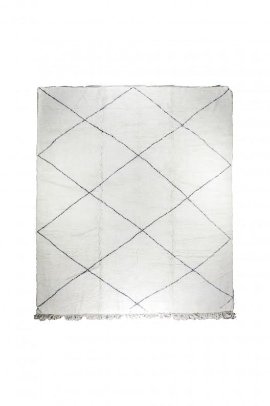 Tappeto Berbero Beni Ourain - 390X345 cm - 153.5X135.83 in