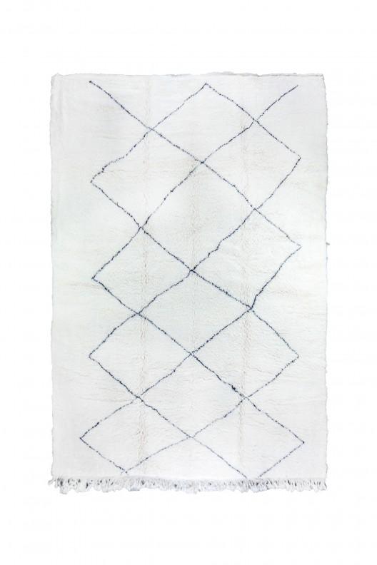 Tappeto Berbero Beni Ourain - 400X310 cm - 157.5X122 in