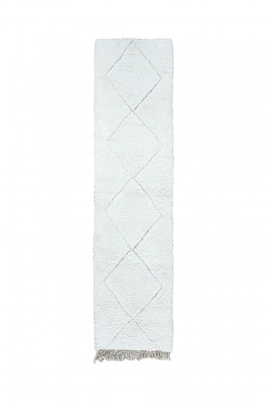 Tappeto Berbero Beni Ourain - 300X90 cm - 118.1X35.4 in