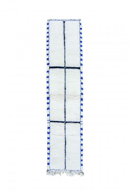 Tappeto Berbero Beni Ourain - 290X80 cm - 114.2X31.5 in