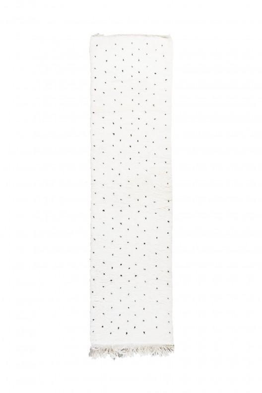 Tappeto Berbero Beniourain - 390X95 cm - 153.5X37.4 in