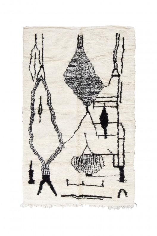Tappeto Berbero Beniourain - 225X150 cm
