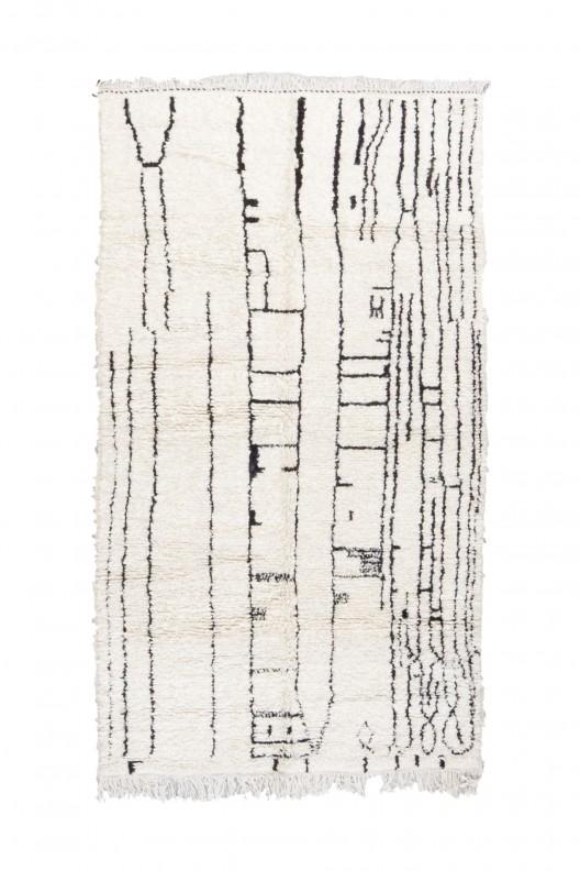Tappeto Berbero Beniourain - 245X140 cm - 96.5X55.1 in