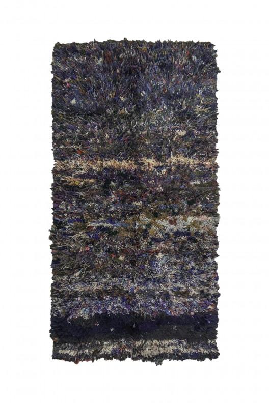 Tappeto Berbero Boucherouite - 200X118 cm - 78.74X46.4566 in