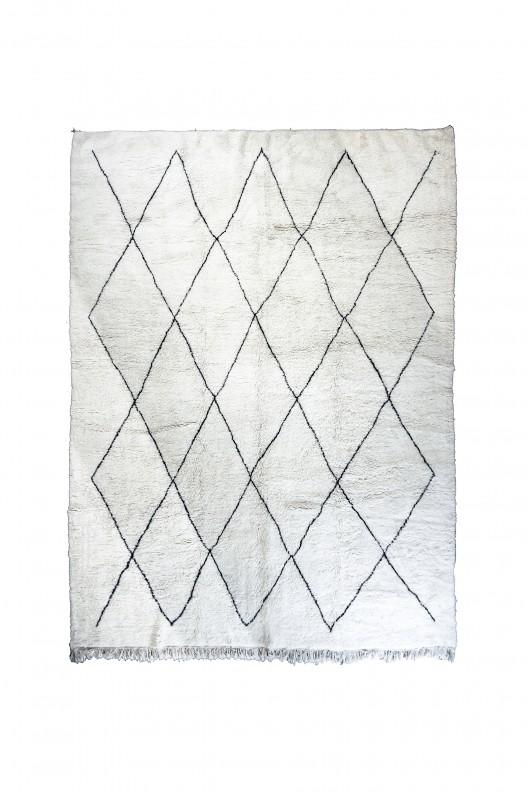 Tappeto Berbero Beni Ourain - 385x320 cm - 151.5745X125.984 in