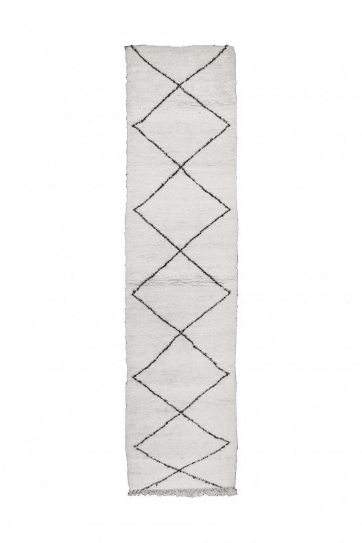 Tappeto Berbero Beni Ourain - 400x90 cm - 157.5X35.4 in