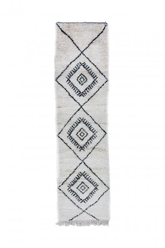Tappeto Berbero Beni Ourain - 295x75 cm - 116.1X29.5 in