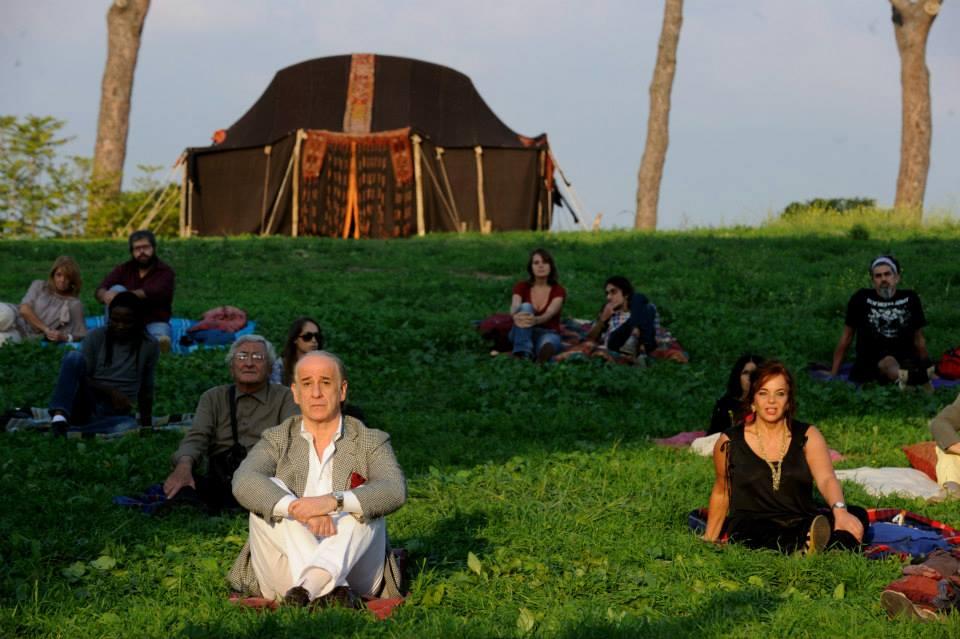 """FILM """"La Grande Bellezza"""" di Paolo Sorrentino. Tenda tuareg - 2013."""